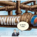 No politics pipeline